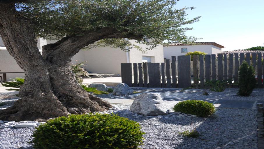 Incroyable Décoration jardin montpellier nimes YJ-99